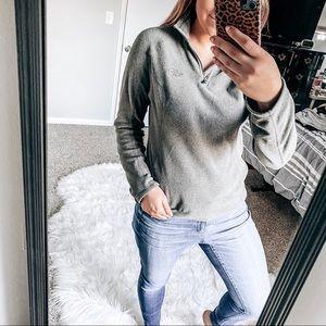 North face quarter zip pullover